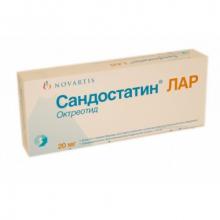 Sandostatin Lar 20 mg [Сандостин 20 мг]