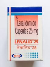 lenalid 25 [Леналид (леналидомид 25 мг )]