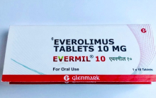 Evermil 10 mg ( эверолимус [ Афинитор])